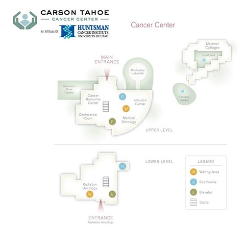 Carson Tahoe Cancer Center Map